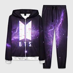 Костюм мужской BTS: Violet Space цвета 3D-белый — фото 1