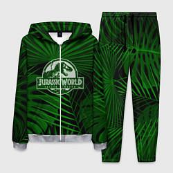 Костюм мужской Jurassic World: Green Tropic цвета 3D-меланж — фото 1