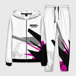 Костюм мужской Metro Exodus: White Style цвета 3D-черный — фото 1