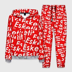 Костюм мужской Esketit Pattern цвета 3D-меланж — фото 1