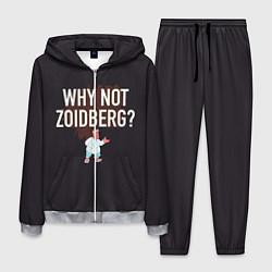 Костюм мужской Why not Zoidberg? цвета 3D-меланж — фото 1