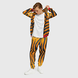 Костюм мужской Шкура тигра цвета 3D-красный — фото 2