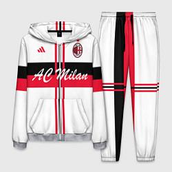 Костюм мужской AC Milan: White Form цвета 3D-меланж — фото 1
