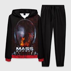 Костюм мужской Mass Effect цвета 3D-красный — фото 1