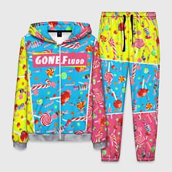 Костюм мужской GONE Fludd цвета 3D-меланж — фото 1