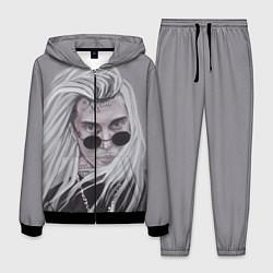Костюм мужской Ghostemane цвета 3D-черный — фото 1