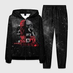 Костюм мужской Dark Vader цвета 3D-черный — фото 1