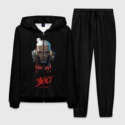 Костюм мужской Элджей 360° цвета 3D-черный — фото 1