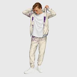 Костюм мужской Бездомный Бог цвета 3D-меланж — фото 2