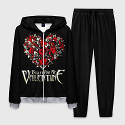 Костюм мужской Bullet For My Valentine: Temper Temper цвета 3D-меланж — фото 1