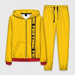 Костюм мужской ASAP Rocky: Yellow Testing цвета 3D-красный — фото 1