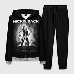 Костюм мужской Nickelback Rock цвета 3D-меланж — фото 1