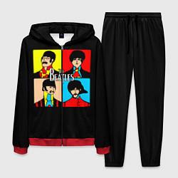 Костюм мужской The Beatles: Pop Art цвета 3D-красный — фото 1