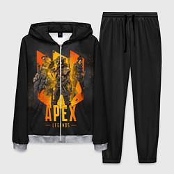 Костюм мужской Apex Legends: Trio цвета 3D-меланж — фото 1