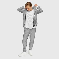 Костюм мужской ASAP Rocky: Grey Fashion цвета 3D-белый — фото 2