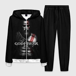Костюм мужской God of War цвета 3D-белый — фото 1