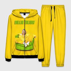 Костюм мужской Billie Eilish: Yellow Mood цвета 3D-черный — фото 1