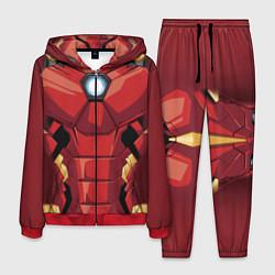 Костюм мужской Iron Man Costume цвета 3D-красный — фото 1