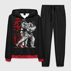Костюм мужской Judo цвета 3D-красный — фото 1