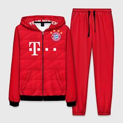 Костюм мужской FC Bayern: Home 19-20 цвета 3D-черный — фото 1