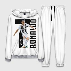 Костюм мужской Ronaldo the best цвета 3D-меланж — фото 1