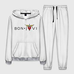 Костюм мужской Bon Jovi цвета 3D-меланж — фото 1