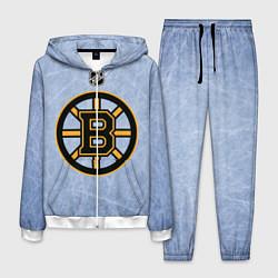Костюм мужской Boston Bruins: Hot Ice цвета 3D-белый — фото 1