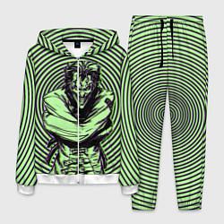 Костюм мужской Joker in a straitjacket цвета 3D-белый — фото 1