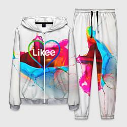 Костюм мужской LIKEE цвета 3D-меланж — фото 1