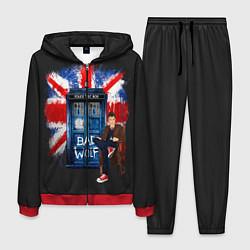 Костюм мужской Doctor Who: Bad Wolf цвета 3D-красный — фото 1