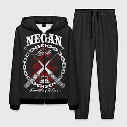 Костюм мужской The Walking Dead Negan цвета 3D-черный — фото 1
