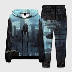 Костюм мужской Халф-лайф цвета 3D-черный — фото 1