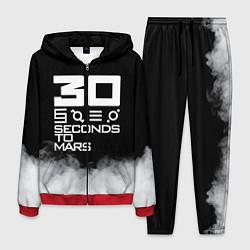 Костюм мужской 30 Seconds To Mars цвета 3D-красный — фото 1