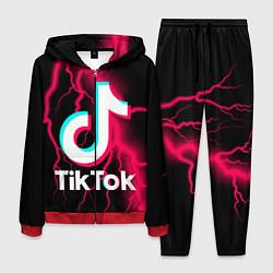 Костюм мужской TikTok цвета 3D-красный — фото 1