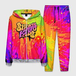 Костюм мужской Stray Kids цвета 3D-меланж — фото 1