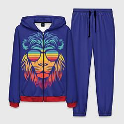Костюм мужской LION2 цвета 3D-красный — фото 1