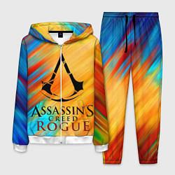 Костюм мужской Assassin's Creed: Rogue цвета 3D-белый — фото 1
