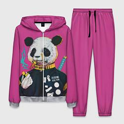 Костюм мужской Off-White for Panda цвета 3D-меланж — фото 1