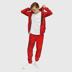 Костюм мужской Three Days Grace цвета 3D-красный — фото 2