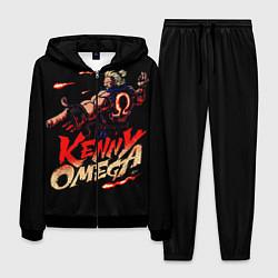 Костюм мужской Kenny Omega Street Fighter цвета 3D-черный — фото 1