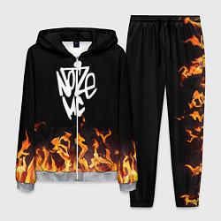 Костюм мужской Noize MC цвета 3D-меланж — фото 1