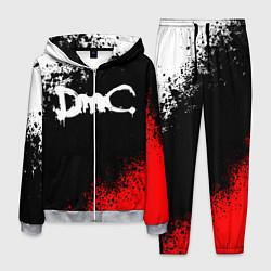 Костюм мужской DEVIL MAY CRY DMC цвета 3D-меланж — фото 1