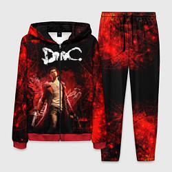Костюм мужской Devil may cry цвета 3D-красный — фото 1