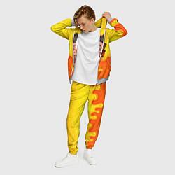 Костюм мужской Summertime обезьяна цвета 3D-меланж — фото 2