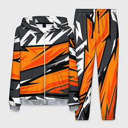 Костюм мужской Bona Fide Одежда для фитнеса цвета 3D-меланж — фото 1