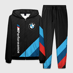Костюм мужской BMW M PERFORMANCE цвета 3D-черный — фото 1