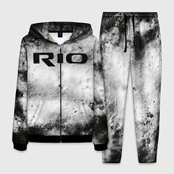 Костюм мужской KIA RIO цвета 3D-черный — фото 1
