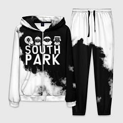 Костюм мужской Южный Парк цвета 3D-белый — фото 1