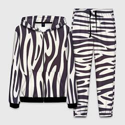 Костюм мужской Я зебра цвета 3D-черный — фото 1