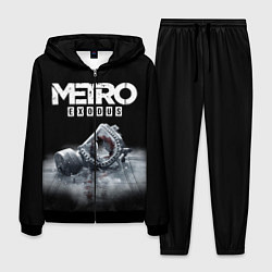 Костюм мужской METRO EXODUS цвета 3D-черный — фото 1